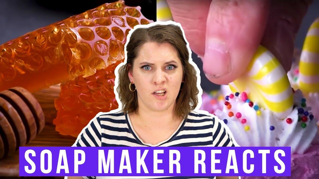 Katie dari Royalty Soap mengulas cara membuat sabun yang benar