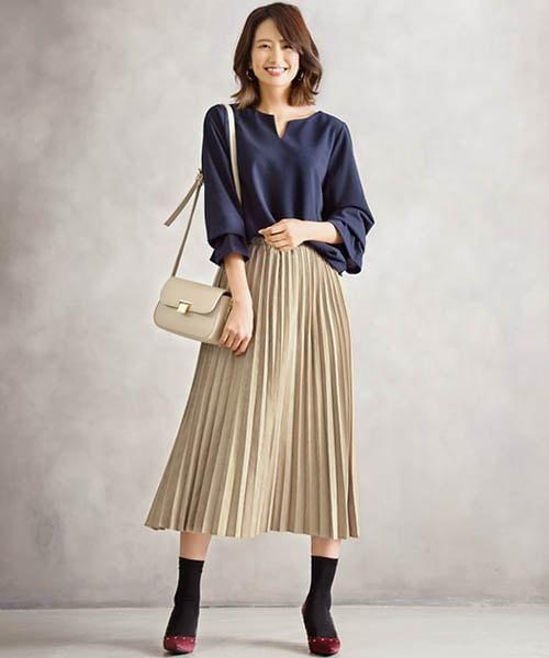 Inspirasi Padu Padan Pleated Skirt 7