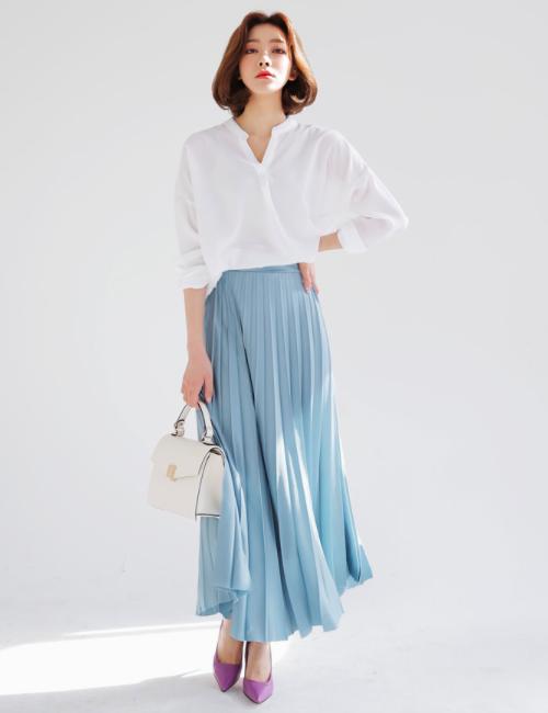 Inspirasi Padu Padan Pleated Skirt 8