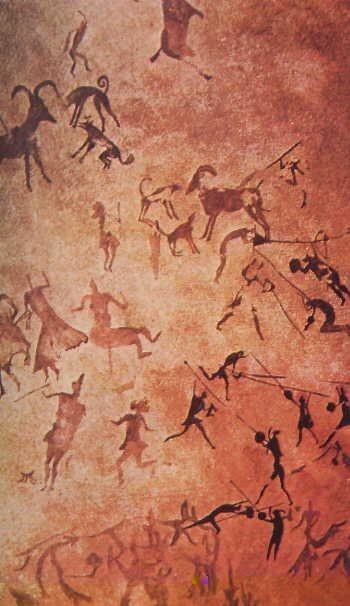 Prehistoric Art   Sumber gambar : pinterest