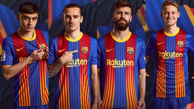 Pesona Skuad Catalan Barcelona Musim 2021/2022 4