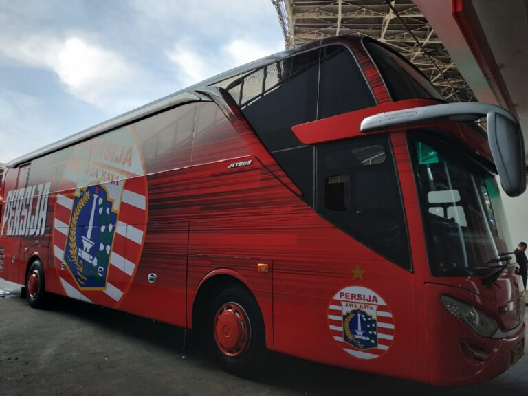 Indahnya Bus Klub Sepakbola Indonesia 1