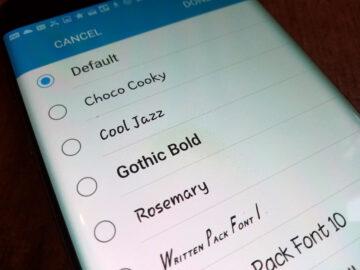 Bagaimana Cara Membuat Tampilan Font Android Kalian Jadi Beda 11