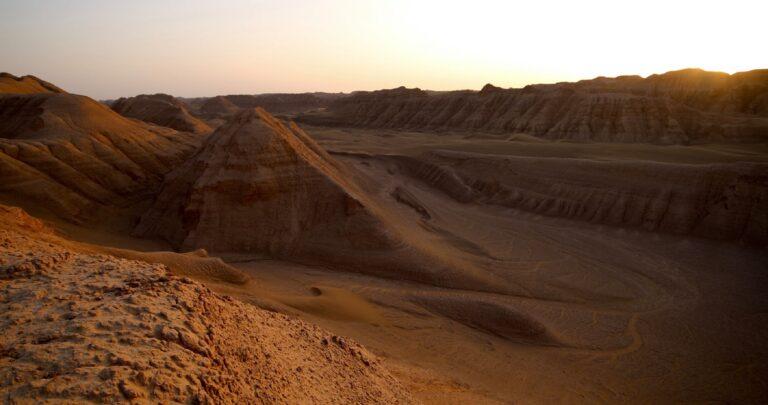 Gurun Dasht-e Lut Tempat Terpanas di Bumi 1
