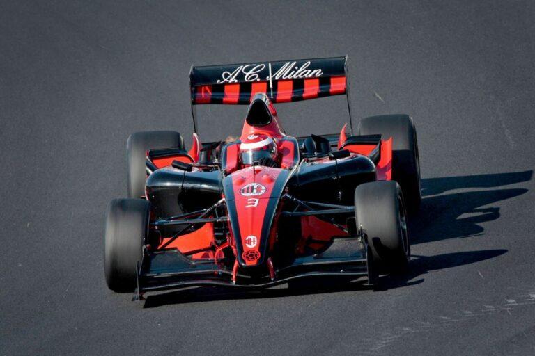 Tim Balap Mobil Klub Sepakbola AC Milan, AC Milan Superleague Formula Racing Team 1