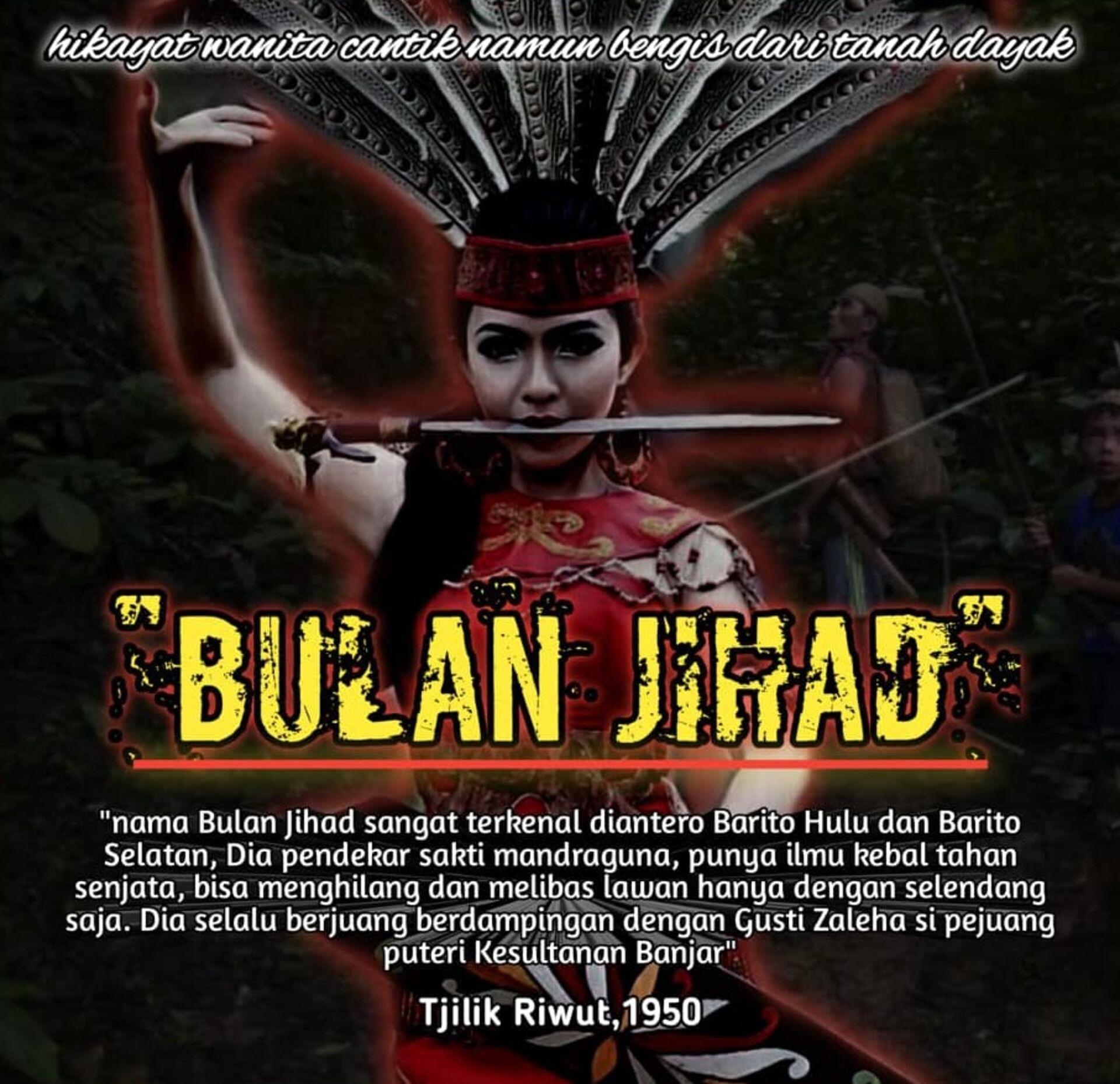 Dok. Ilustrasi Bulan Jihad, situs Kesultanan Banjar