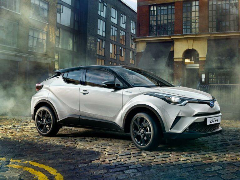 Mengintip Mewahnya Toyota C-HR Hybrid 2021 1