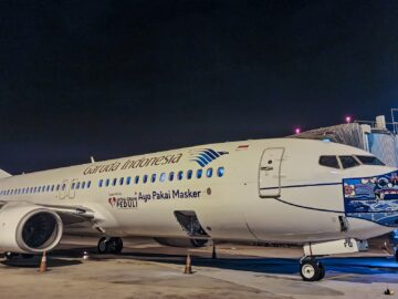 Fenomena Pesawat Garuda Indonesia Pakai Masker Setahun Silam 12