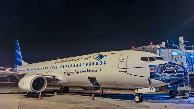 Fenomena Pesawat Garuda Indonesia Pakai Masker Setahun Silam 1