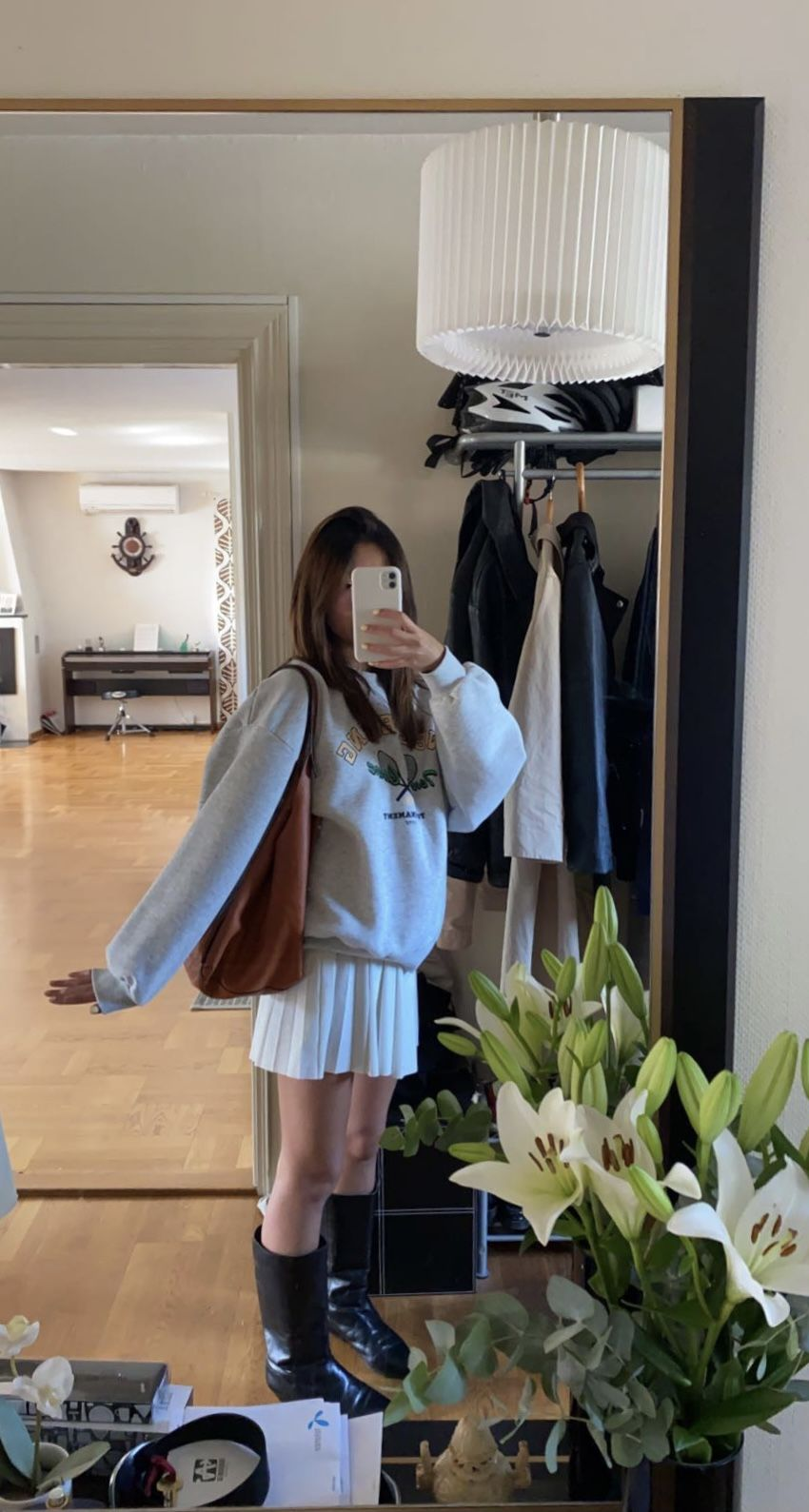 Inspirasi Padu Padan Pleated Skirt 5