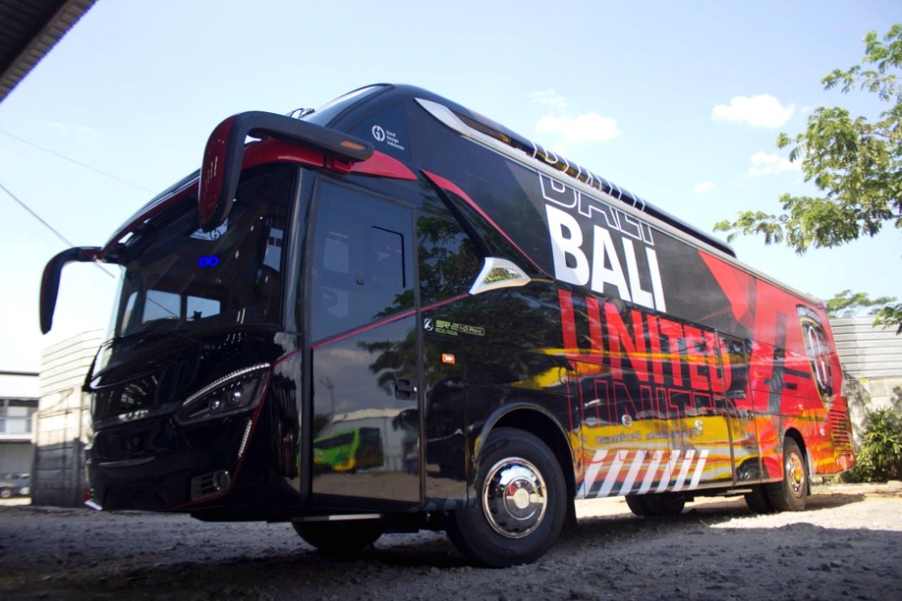 Indahnya Bus Klub Sepakbola Indonesia 6