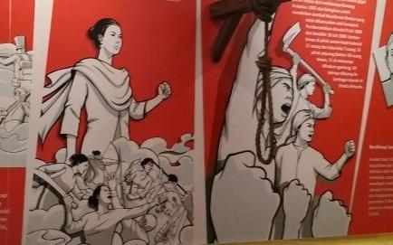 Dok. Ilustrasi Nyi Mas Gamparan di Museum Multatuli, Banten