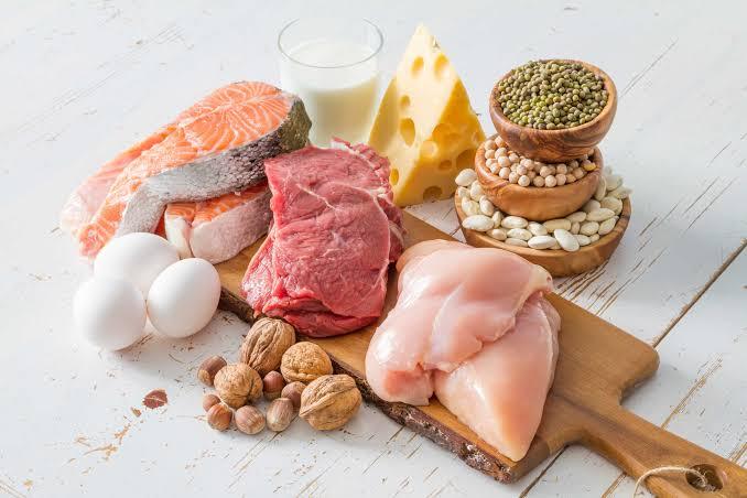 Ilustari makanan berprotein. Foto: hellosehat