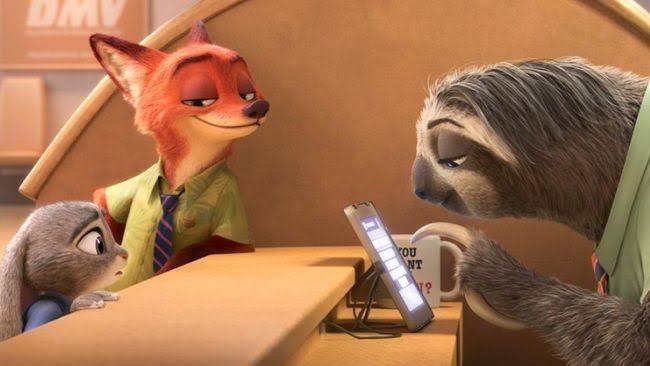 Film Zootopia. Foto: Walt Disney Animation Studios
