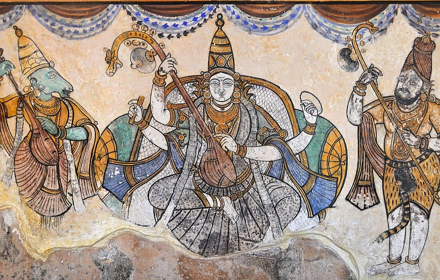 Tiga Karya Seni Rupa Memukau di India 6