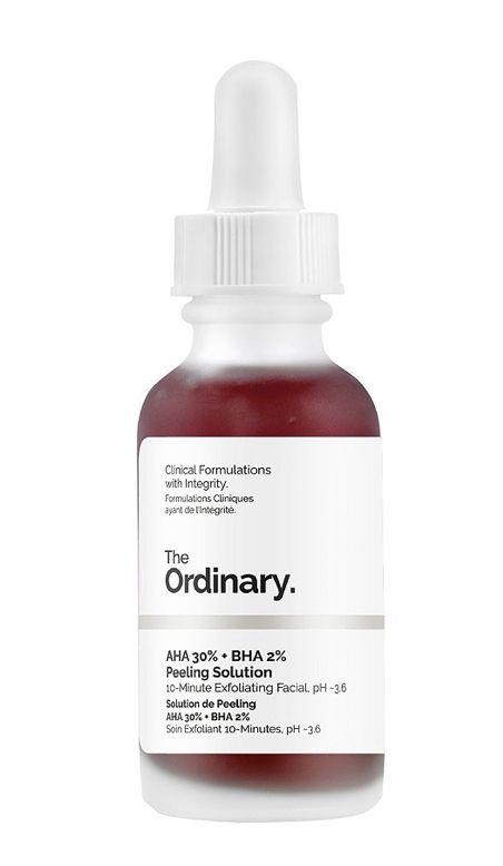 contoh produk yang menggabungkan dua jenis chemical exfoliator yaitu AHA dan BHA