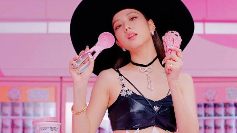Pesona Jisoo Blackpink Saat Melakukan Syuting MV Ice Cream 1