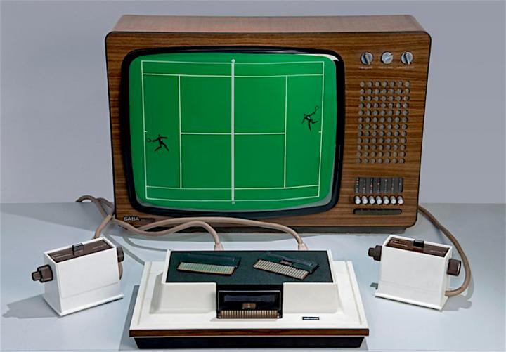 Magnavox Odyssey video game pertama kali tahun 1973