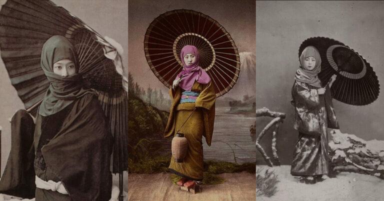 Bukan Kerudung, Pakaian Tradisional Jepang Ini Mirip dengan Pakaian Muslimah 1
