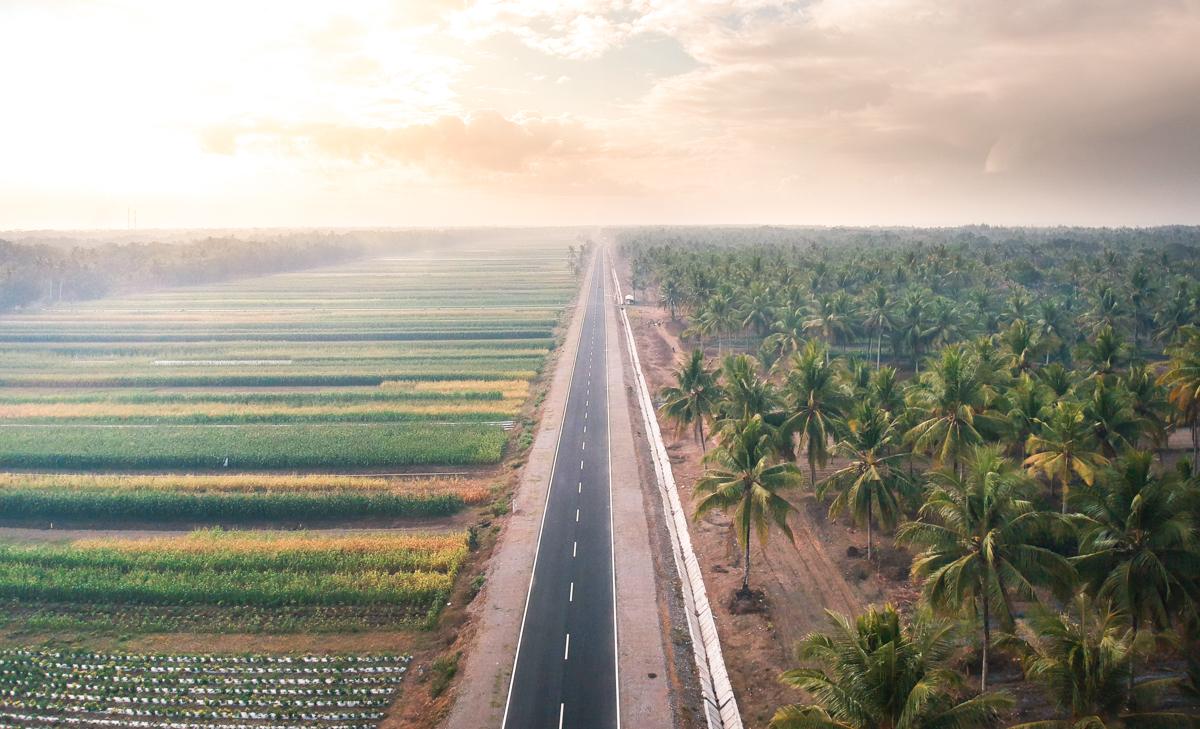 Potret Jalur Daendels Petanahan Mirip Jalan Tol 3