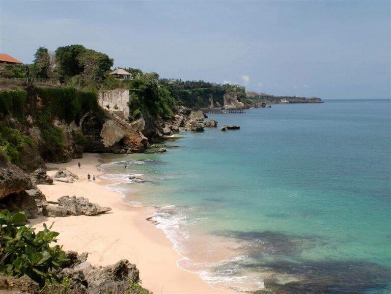 Potret Cantik Pantai Tegal Wangi Jimbaran 1