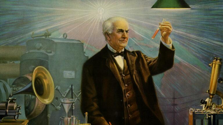 Biografi Penemu Bola Pijar Thomas Alva Edison 1