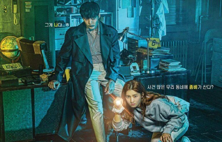 "Drama Korea ""Zombie Detective"", Zombie yang Suka Pakai BB Cream 1"