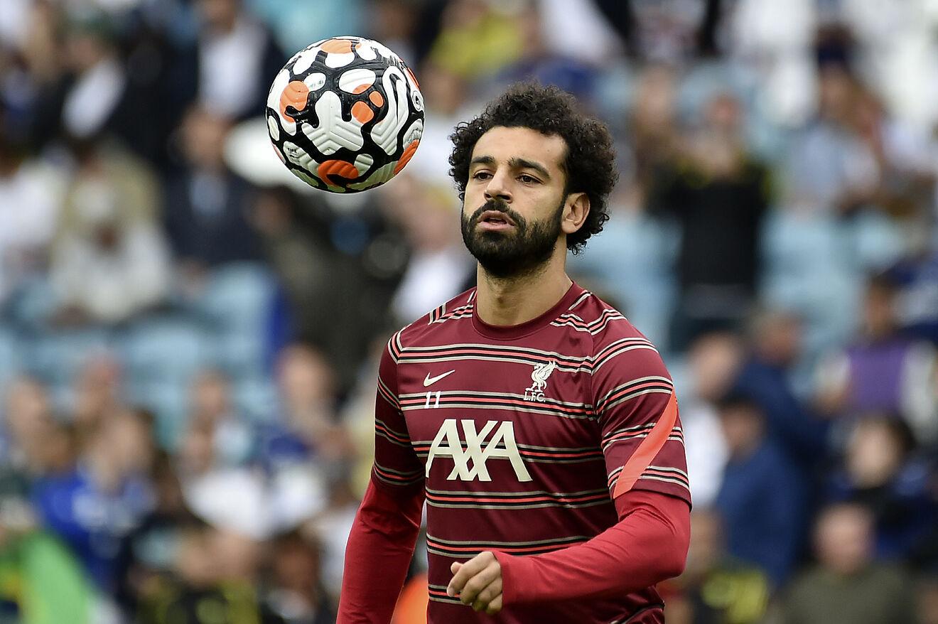 Mohamed Salah Bikin Selebrasi Kontroversi 3