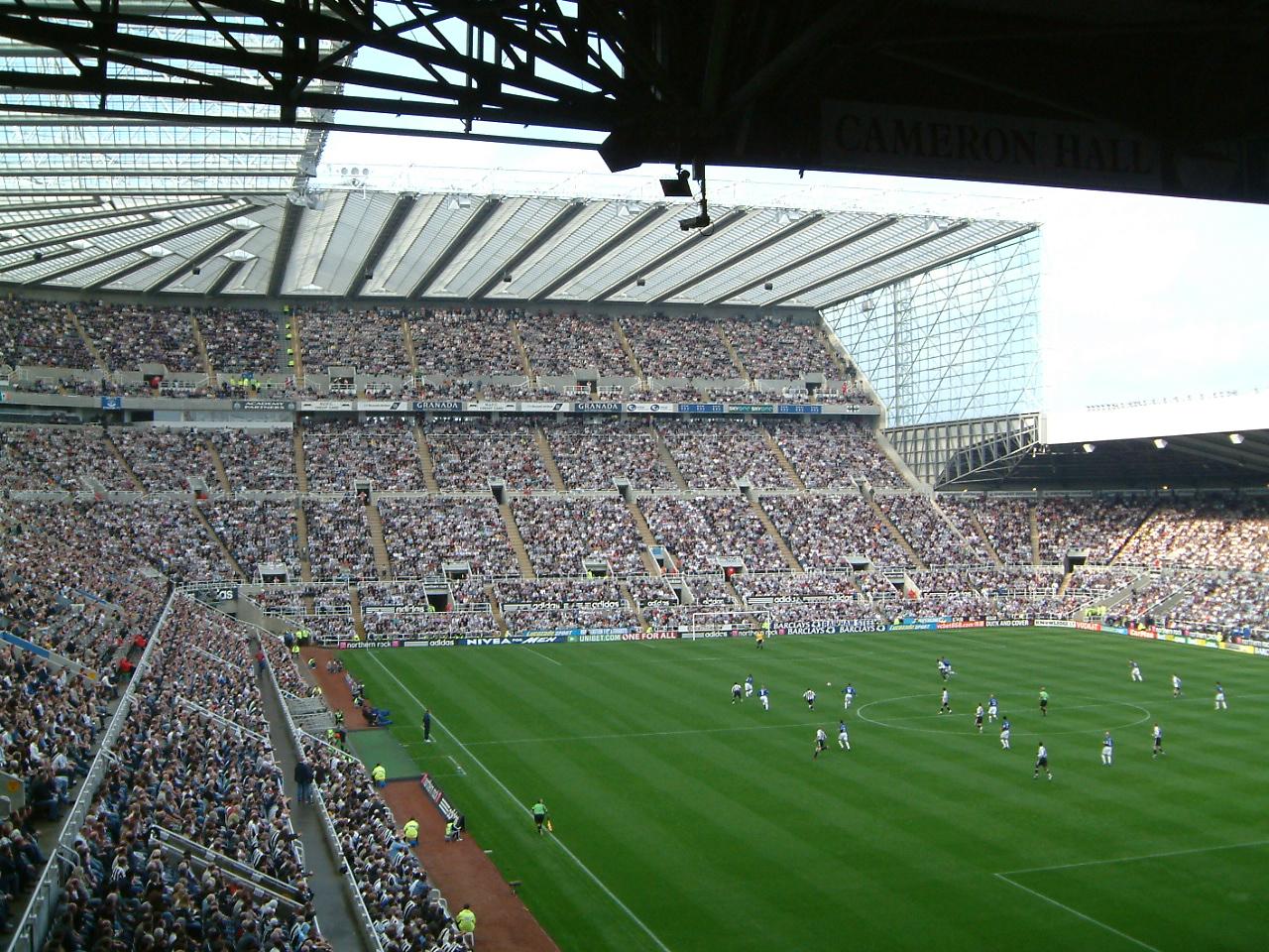 Intip Kemegahan Stadion St. James Park, Rahasia Dibalik Keuntungan Newcastle United 4