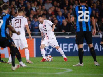 PSG Ditahan Imbang Club Brugge 10