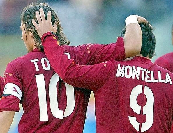 AS Roma: Montella dan Totti Beda Julukan 3