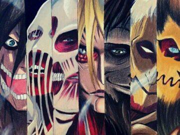 Mengenal Lebih Dekat Sembilan Titan di Shingeki No Kyojin 13