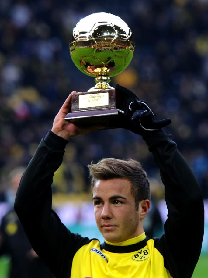 Peraih Golden Boy 2011, Mario Gotze (Borussia Dortmund)