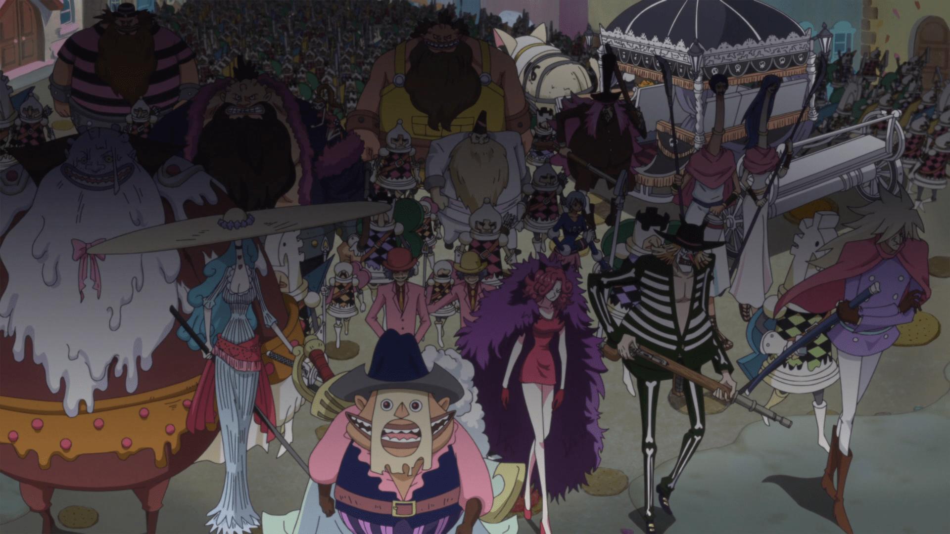 Big Mom Pirates, Yonko dengan Kru Bajak Laut Terkuat di One Piece 3
