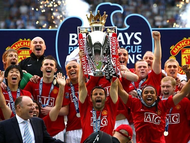 Skuad Manchester United saat terakhir kali menjuarai Liga Inggris tahun 2013