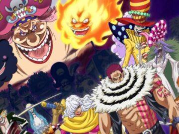 Big Mom Pirates, Yonko dengan Kru Bajak Laut Terkuat di One Piece 15