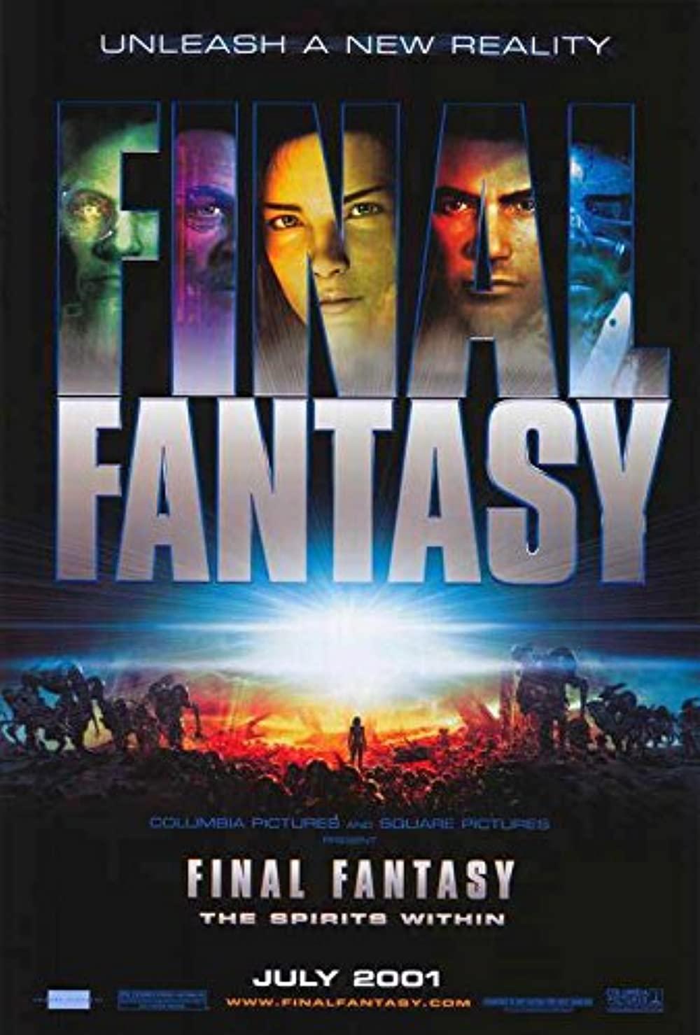 Poster Film 'Final Fantasy: The Spirits Within' (2001)Sumber: IMDB