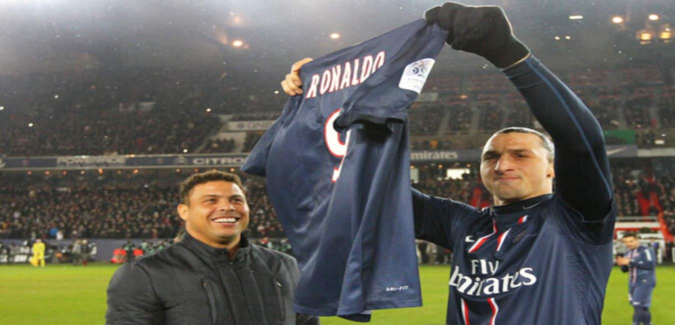 Zlatan Ibrahimovic: Blak-blak an Soal Ronaldo Luis Nazario de Lima 3