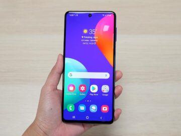 Mengenal Samsung Galaxy M62 Baterai Jumbo 8