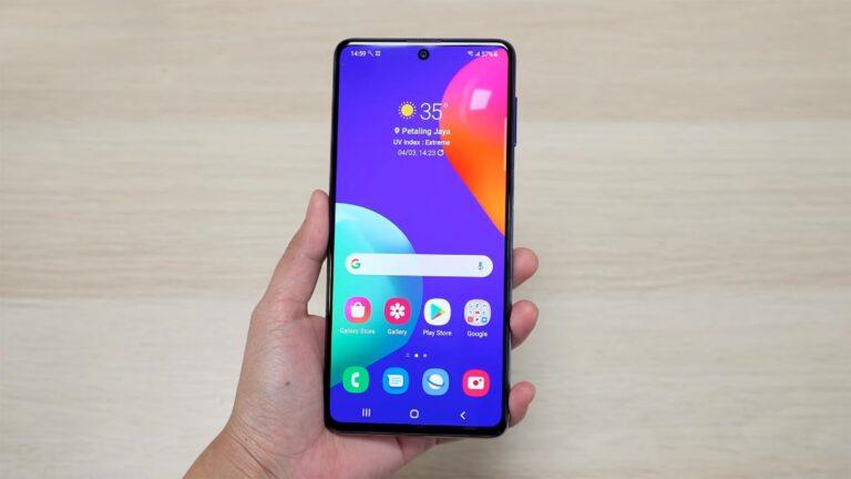 Mengenal Samsung Galaxy M62 Baterai Jumbo 1