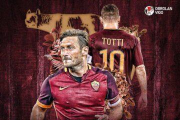 AS Roma: Montella dan Totti Beda Julukan 13