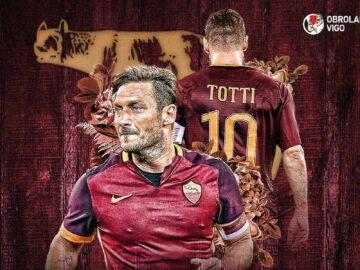 AS Roma: Montella dan Totti Beda Julukan 10