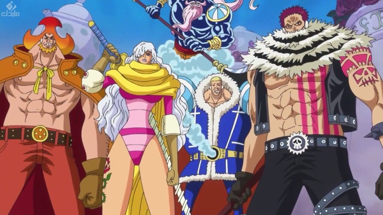 Big Mom Pirates, Yonko dengan Kru Bajak Laut Terkuat di One Piece 5