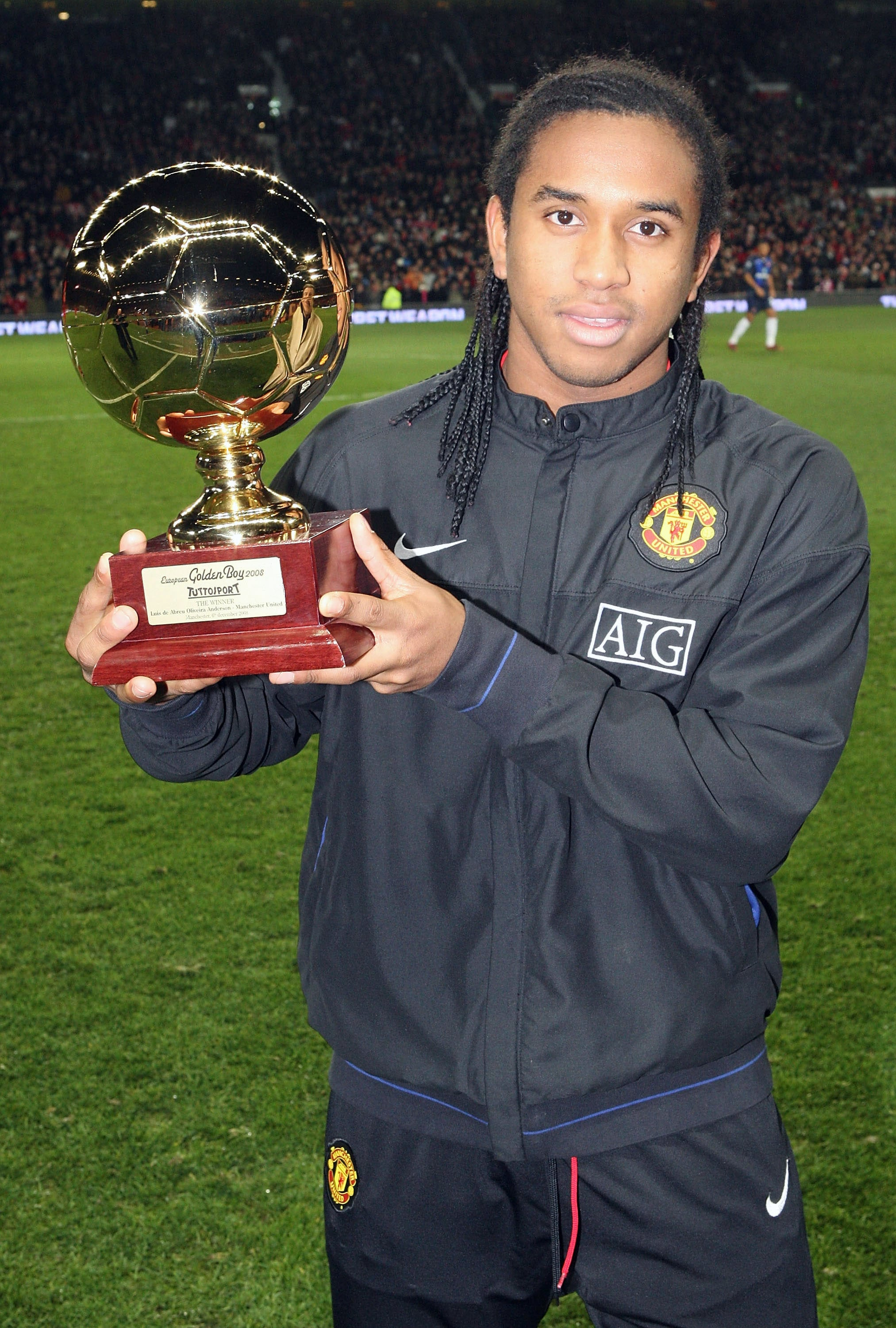 Peraih Golden Boy 2008, Anderson (Manchester United)