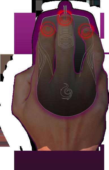 Fingertip Grip Mouse