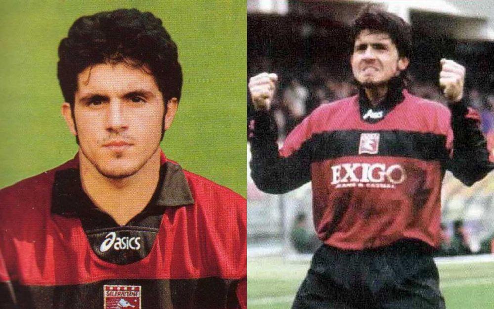 Gennaro Gattuso saat masih berseragam Salernitana