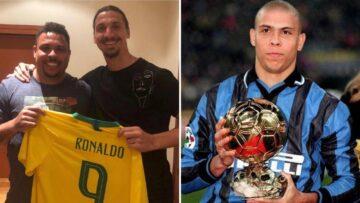 Zlatan Ibrahimovic: Blak-blak an Soal Ronaldo Luis Nazario de Lima 15