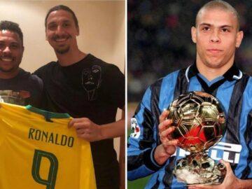 Zlatan Ibrahimovic: Blak-blak an Soal Ronaldo Luis Nazario de Lima 12