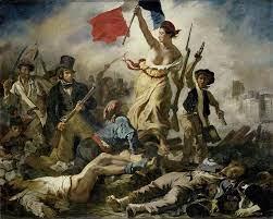 Lukisan Revolusi Perancis oleh Eugene Delacroix