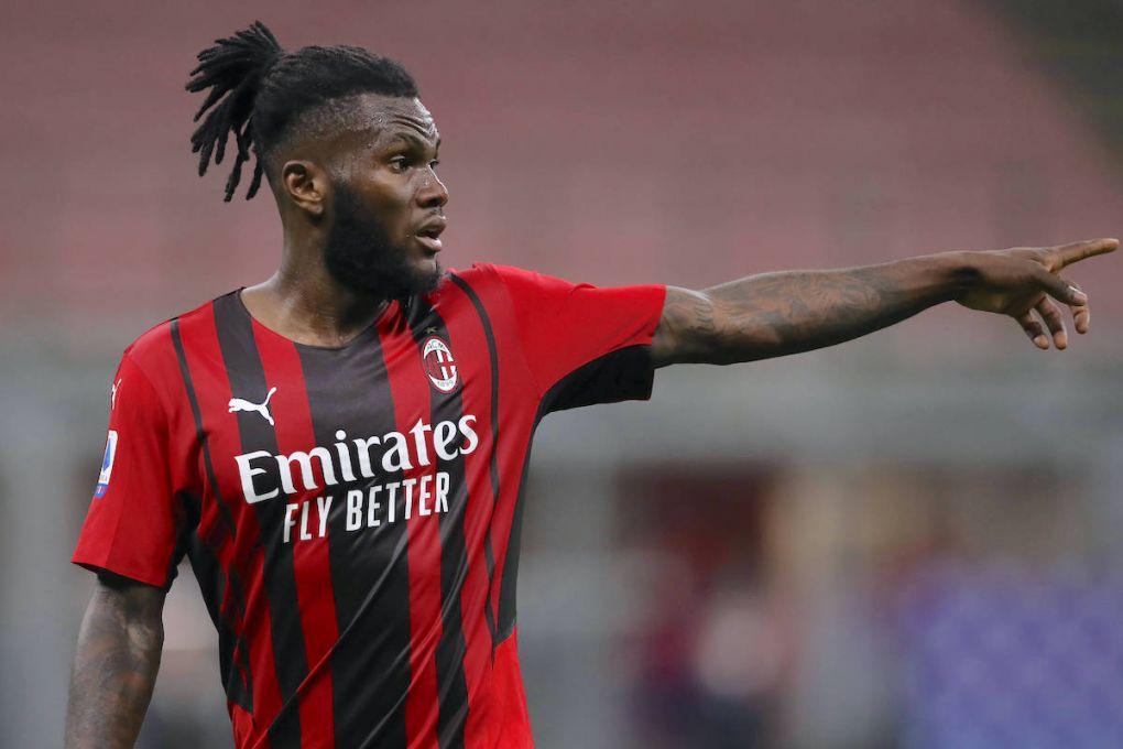 Negosiasi kontrak Franck Kessie dengan AC Milan berjalan alot.